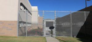 Fence with no razor wire